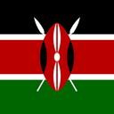 Flag Kenya